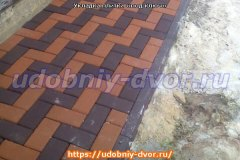 Укладка тротуарной плитки «под ключ»