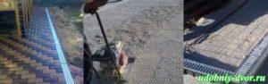 УСЛУГИ: Укладка тротуарной плитки «под ключ». Благоустройство придомовой территории и дачного участка