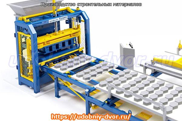 Производство строительных материалов в Московской области