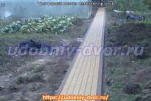 Тротуарная плитка в Чеховском районе