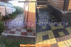 Производство и укладка тротуарной плитки всех видов в Раменском районе