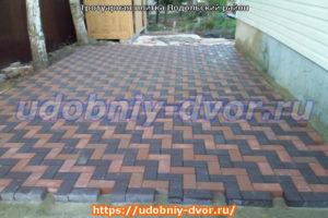 Тротуарная плитка в Подольском районе