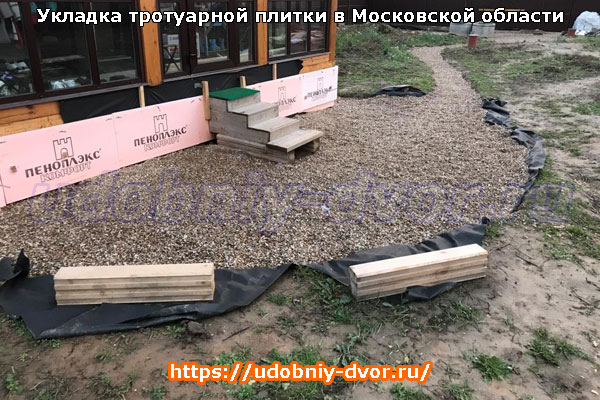 Районы Московской области, которые обслуживает наша компания