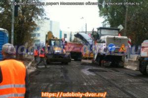 Асфальтирование дорог в Московской области