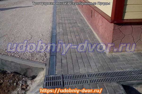 Примеры укладки тротуарной плитки в Серебряных Прудах