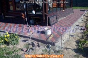 Тротуарная плитка Серебряные Пруды