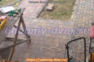 Укладка брусчатки под ключ в Московской и Тульской областях