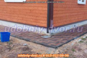 Собственное производство и укладка тротуарной плитки в Заокском районе Тульской области.
