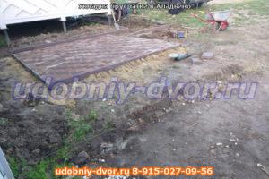 Брусчатка вибропрессованная в Московской области