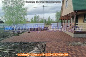 Укладка брусчатки Ясногорский район