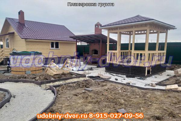 Планировка грунта и грунтовые работы в Московской области