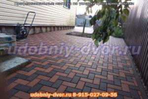 Профессиональные мастера по укладке тротуарной плитки