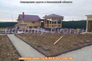 Планировка грунта в Московской области