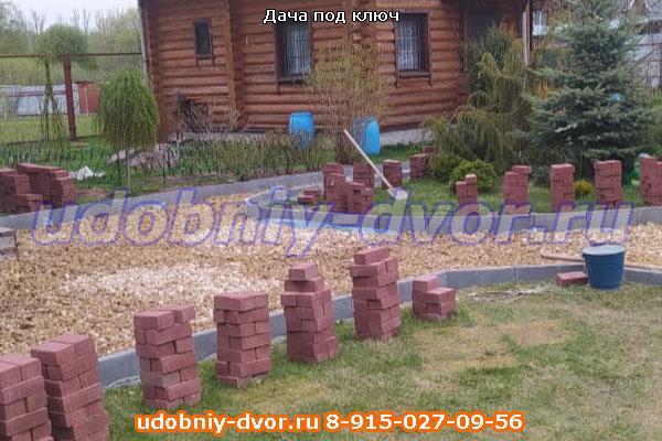 Облагораживание дачи под ключ в Василево